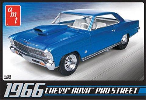 AMT 636 1:25 1966 Chevy Nova Pro Street Plastic Model Kit (Model Pro Hobby)