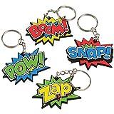 Superhero Keychains (one dozen)
