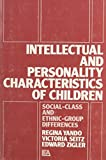 Intellectual and Personality Characteristics of Children 9780898590012
