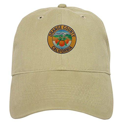 CafePress Orange County California Baseball Cap with Adjustable Closure, Unique Printed Baseball Hat ()