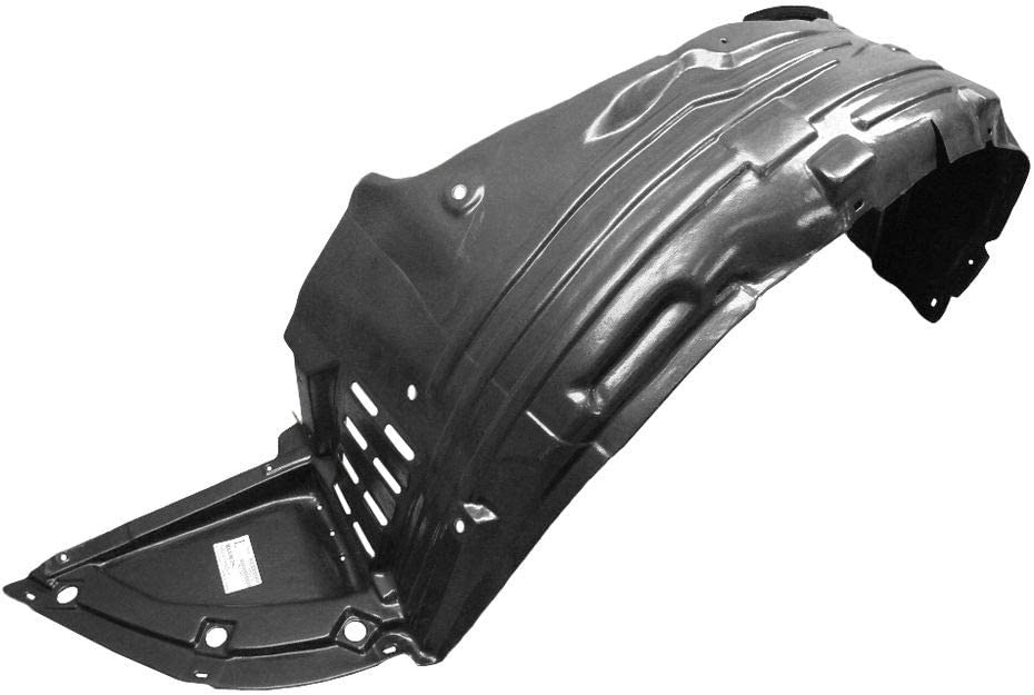 fits 2009-2014 MAXIMA Front Bumper DRIVER Inner Fender Splash Shield Liner Left