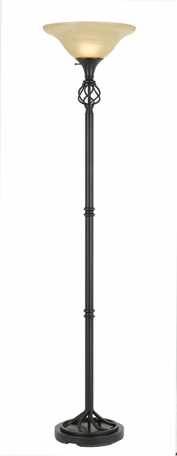 Cal Lighting One Light Torchiere BO-2751TR One Light Torchiere