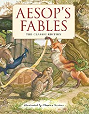 Aesop's Fables Hardcover: The Classic Edition (Fairy Tales, Classic Children Books, Animal Stories, Books