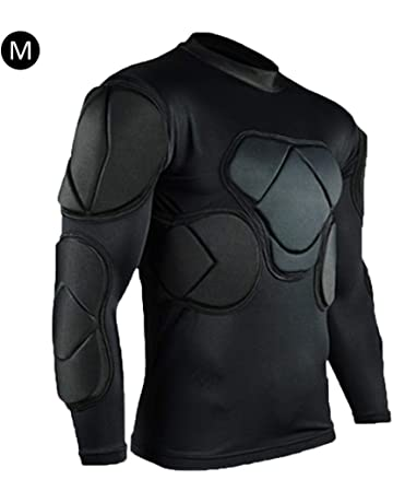 651164225f3 Shape 2019 New Long-Sleeve Goalkeeper Football Protective Gear Set Training  Suit Rib Protector for