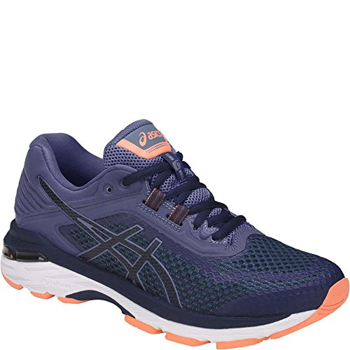 ASICS Women's GT-2000 6 Running Shoe, Indigo Blue/Indigo Blue/Smoke Blue, 7.5 W US