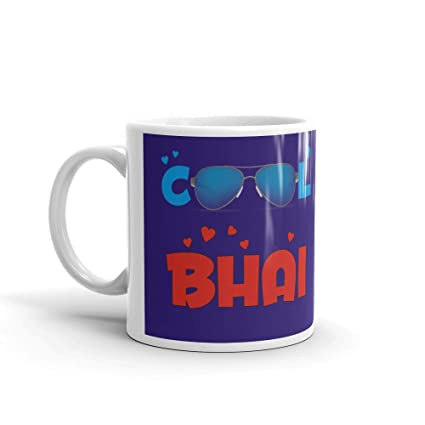 Family Shoping Birthday Gifts For Brother New Year Cool Bhai Coffee Mug