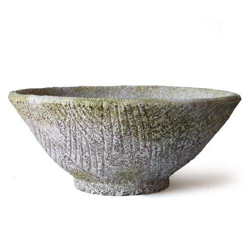 OrlandiStatuary FS60272-SAN Helm Vase, Sandstone Finish (Sandstone Vase)
