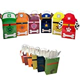 Paw Party Paper Gift Bags - 6 Bags