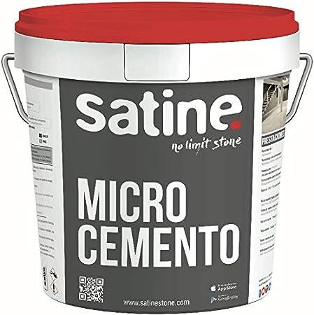 Microcemento Monocomponente acabado Fino Satine 15 kg