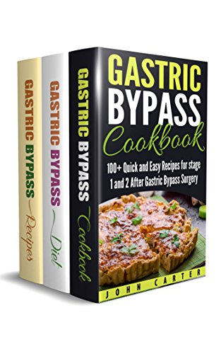 Gastric Bypass 3 In 1 Box Set Gastric Bypass Cookbook Gastric