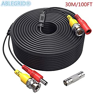 150ft BNC Video Power Wire Cord for Zmodo Q-See Qsee PTZ Lorex Camera Cable
