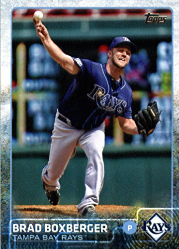 2015 Topps Baseball Card #538 Brad Boxberger NM-MT (538 Single)