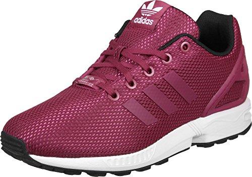 buy online 682e9 a81cc adidas ZX Flux, Scarpe, Unisex FUXIA UNIPNK rosa bianco