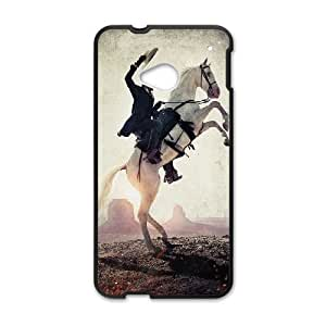 HTC One M7 phone cases Black Lone ranger cell phone cases Beautiful gifts UREN2397166