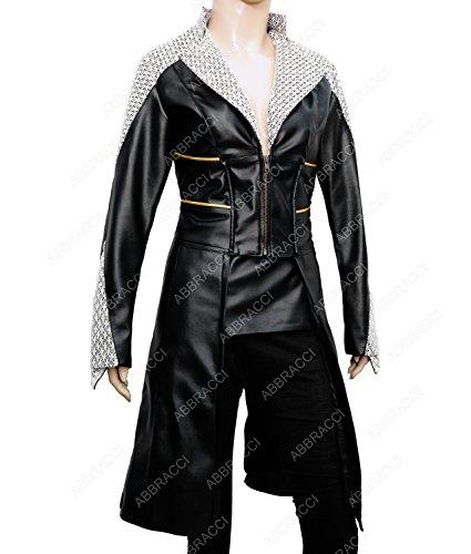 Abbracci Women Emma Killer Frost Cosplay Halloween Costume (L/12-14, Black)