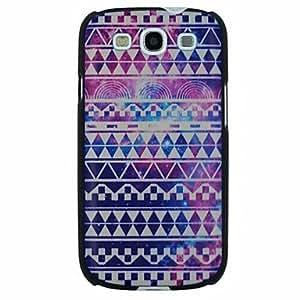 SHOUJIKE Colorful Folk Style Pattern PC Hard Back Cover Case for Samsung S3 I9300