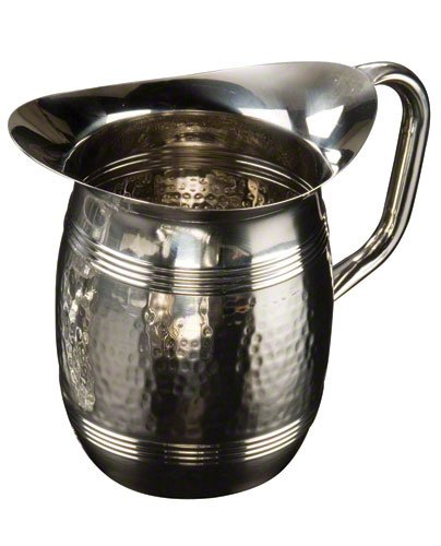 American Metalcraft Bell (American Metalcraft (HMWP85) 68 oz Stainless Steel Hammered Water Pitcher)