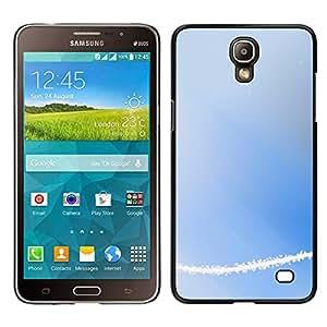 MOBMART Carcasa Funda Case Cover Armor Shell PARA Samsung Galaxy Mega 2 - White Line Of Radiance