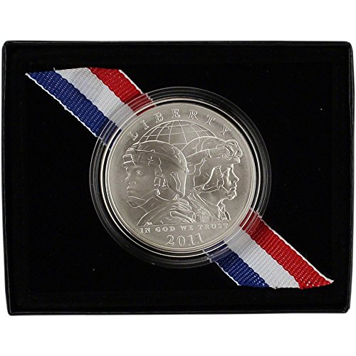 2011-s-us-commemorative-bu-silver-dollar-army-1-ogp-us-mint