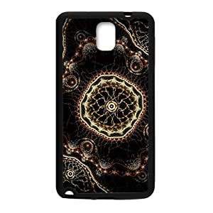 SKULL Artistic fractal abstract design Cell Phone Case for Samsung Galaxy Note3