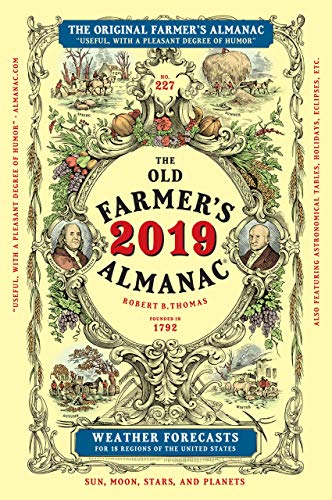 The Old Farmer's Almanac 2019 made in New Hampshire