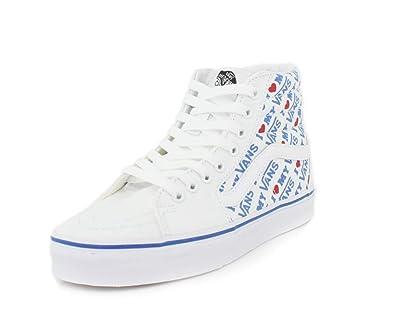 I BasketChaussures Femmes Sk8 Vans True Heart Blanc Hi Fl1cTKJ