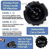 NextRoller 3-Speed Vibrating Foam Roller - High