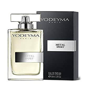 Yodeyma Metal Sports Mens Perfume 100 ml Eau de Parfum Allure Homme Sport - Chanel by