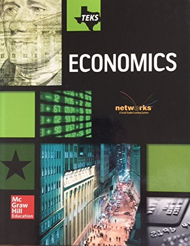 Teks Economics Student Edition Networks a Social Studies Learning System