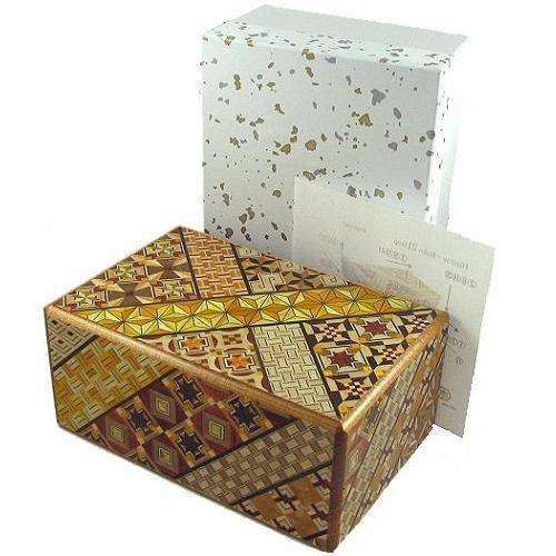 5 Sun 21 Steps Koyosegi Japanese Puzzle Box