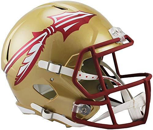 Sports Memorabilia Riddell Florida State Seminoles Revolution Speed Full-Size Replica Football Helmet - College Replica Helmets