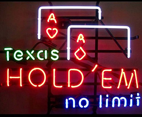 (iecool Texas Hold'em no Limit Neon Sign 17