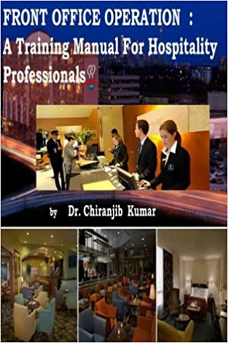 Front Office Operation: A Training Manual for Hospitality