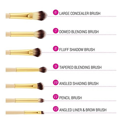 BH Cosmetics Studded Couture Brush Set