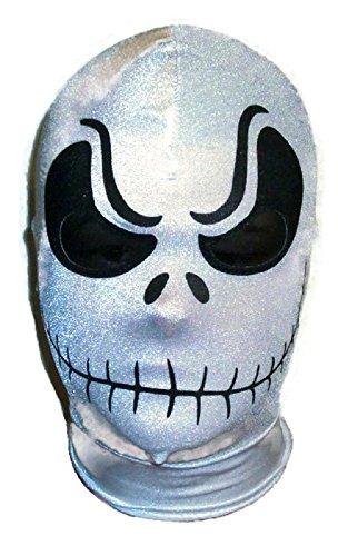 [Jack Skellington Mask costume spandex lycra USA MADE! Great Christmas gift!] (Jack Skellington Mask)