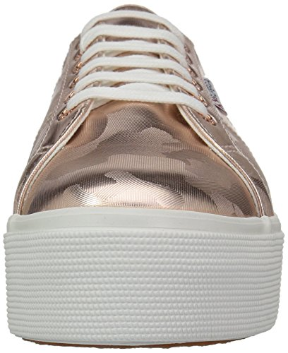 Superga Mujeres 2790 Armychromw Sneaker Rose Gold