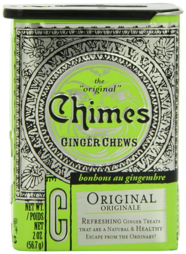Cheap Chimes Original Ginger Chews, 2-Ounce Tins (Pack of 20)