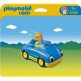 プレイモービル 1・2・3シリーズ 1.2.3オープンカー 6758