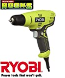 Ryobi ZRD43K 5.5-Amp 3/8 in. Variable Speed Drill (Renewed)