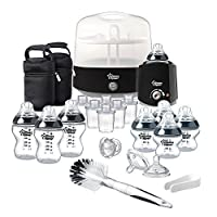 Tommee Tippee Complete Feeding Set (Black, Closer to Nature)