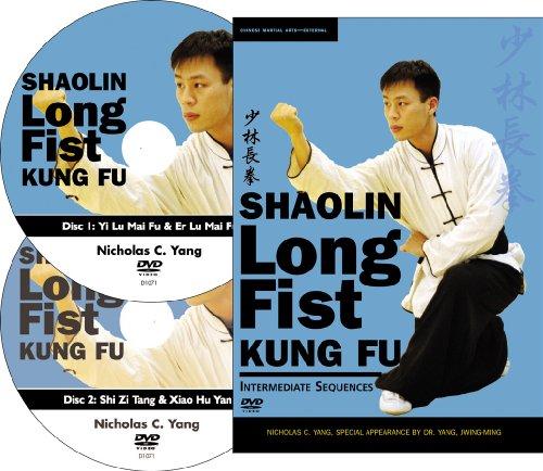 Shaolin Long Fist Kung Fu Intermediate Sequences (YMAA Kung Fu) 2-DVD set