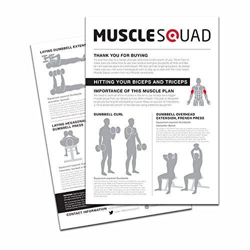 musclesquad 2/4/6 kg juego de pesas (24 kg en total: Amazon.es: Deportes y aire libre