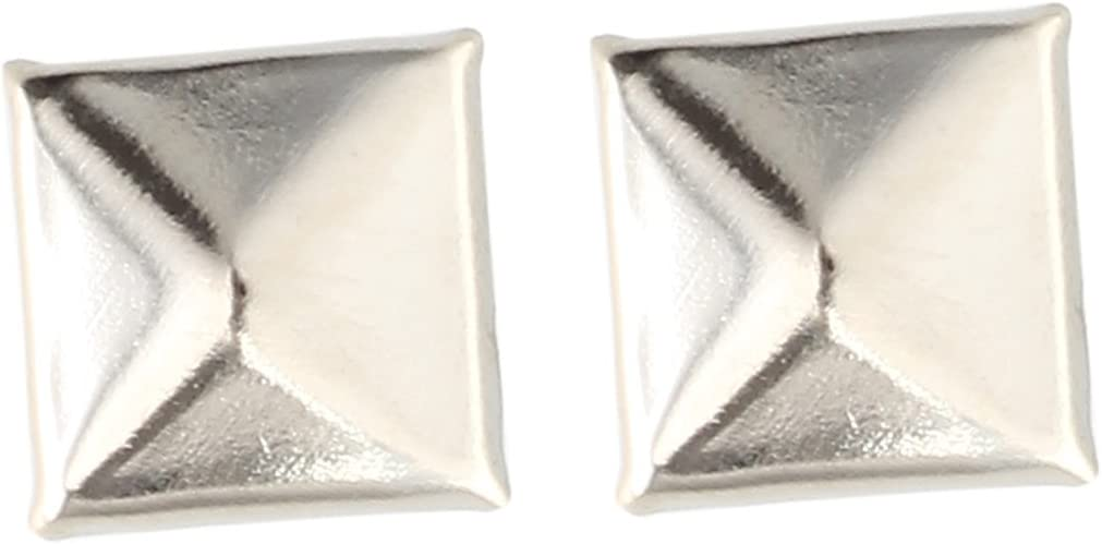 Tachuelas para tapicer/ía 9,5 mm x 10 mm Sourcingmap color plateado