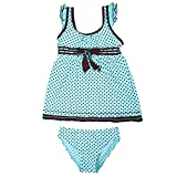 Fast Consuming Girls' Athletic Two-Piece Swimsuits