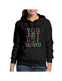 bikini bags Womens You Just Got Served Volleyball Casual Pullover Hoodie Sweatshirt