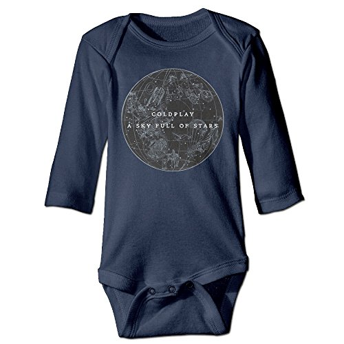 (DETED A Sky Full Of Stars Funny Baby Girls Boys Romper Jumpsuit Size18 Months)
