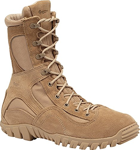 Belleville 793 Mens Waterproof Assault Flight Boot, Tan - 6W