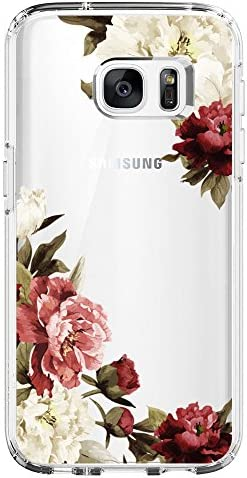 Samsung Galaxy Floral Pattern Clear product image