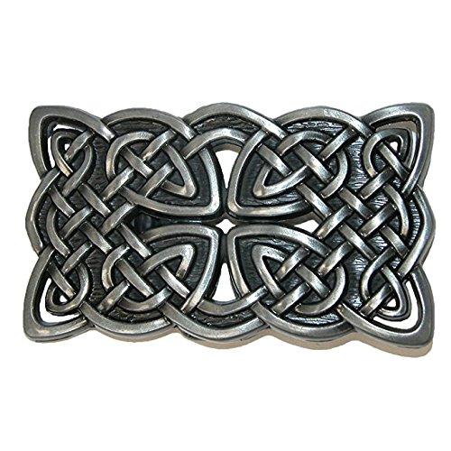 Antique Cross Belt (Takela Celtic Knot Cross Antique Finish Belt Buckle)