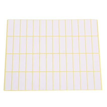 picture regarding Printable Sticky Labels identify Craft Tags - 15 Sheets Self Adhesive Sticky Labels 840
